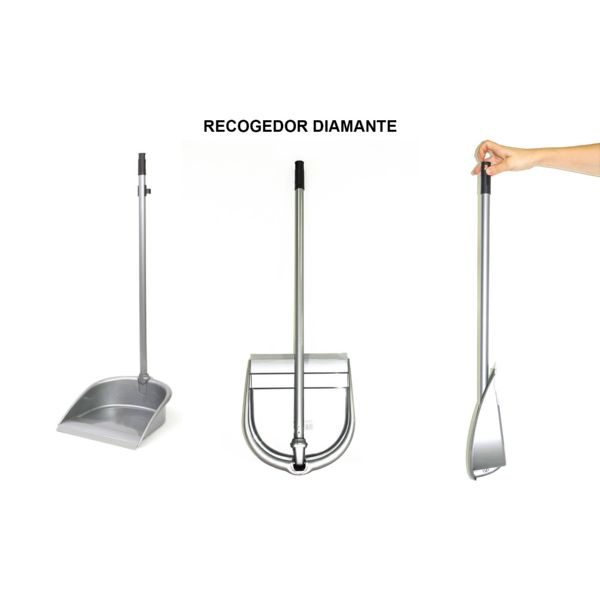 RECOGEDOR PLEGABLE DIAMANTE